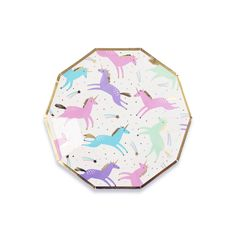 Magical Unicorn Small Plates (Set of – Momo Party Unicorn Party Plates, Unicorn Cups, Unicorn Party Supplies, Sparkler Candles, Fan Decoration, Decorations, Disposable Plates, Magical Unicorn, Party Shop