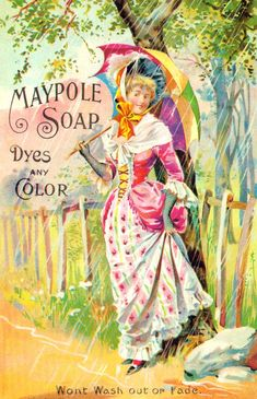 Maypole Soap, Dyes any color