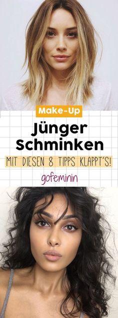 Jünger Schminken: Mit diesen 8 Make-Up-Tipps mogelt ihr die Jahre weg!