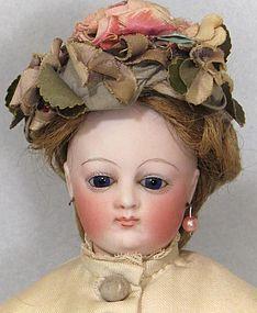 "14"" French Fashion Poupee - Unique Face! - Faraway Antique Shop #dollshopsunited http://www.dollshopsunited.com/stores/faraway/items/1314243/14-French-Fashion-Poupee-Unique-Face"