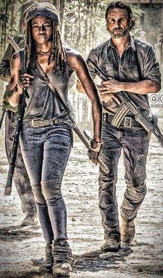 Rick And Michonne, The Walking Dead, Walking Dead