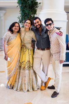 Dubai weddings | Gaurav & Shraddha wedding story | WedMeGood
