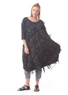8eb924299854ce RUNDHOLZ DIP, Onesize-Kleid mit gewebter Applikation - Frühjahr/Sommer 2019  Frühjahr Sommer