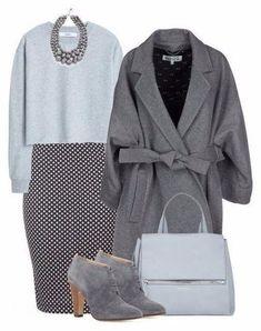 Универсальный тренд: 5 способов, как носить серый цвет зимой | Мода & стиль | Яндекс Дзен