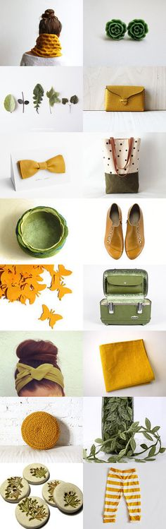 #treasury #Fall In #Love With #Mustard by on Etsy--Pinned with TreasuryPin.com
