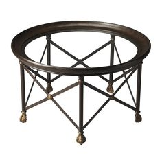 Like a finely crafted cocktail, the Shaken Not Stirred table is formed from many elements of style. The round glass top is given a dramatic frame with a rich brown metal, while the matching base is giv...  Find the Shaken Not Stirred Table, as seen in the Industrial Chic Collection at http://dotandbo.com/collections/industrial-chic?utm_source=pinterest&utm_medium=organic&db_sku=102264
