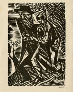 ART & ARTISTS: Irving Amen – woodcuts