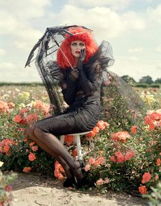 Tim Walker × Tim Burton