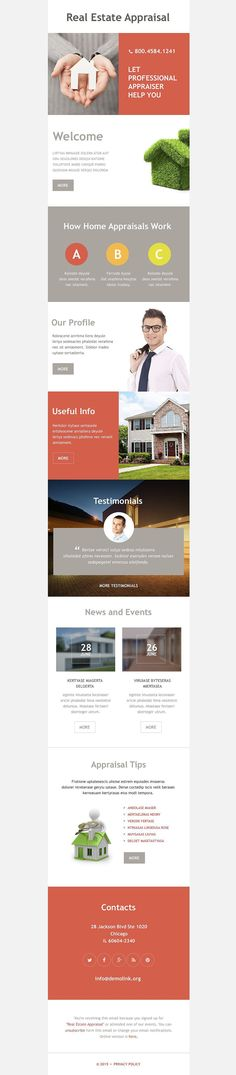 Real Estate ENewsletter  Real Estate Templates Estate And Reals