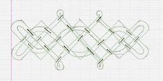 Les entrelacs celtiques (en anglais knotwork = travail des noeuds) sont une décoration que j'apprécie beaucoup, pour de nombreuses raisons. Au niveau de la réalisation, cela demande de la concentration, mais ça n'est pas très difficile. Il suffit de garder...
