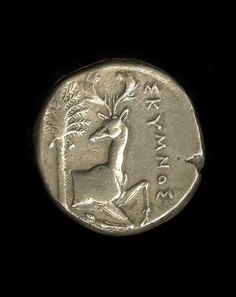 Silver coin. Minted in Ephesus - Greek. | The British Museum