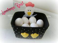 Galinha porta-ovos