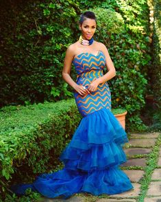 These are the most elegant ankara gown styles there are today, every lady who loves ankara gowns should see these ankara gown styles of 2019 Ankara Styles For Men, Ankara Skirt, African Print Dresses, African Fashion Dresses, African Dress, Ankara Fashion, Ankara Blouse, Ankara Tops, Wedding Ideas
