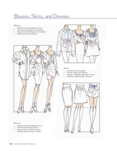 Fashion Sketchbook by Bina Abling