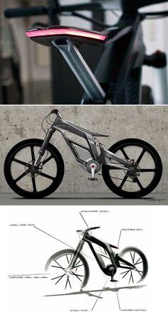 e-bike par Julien Dupont et Audi