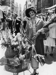 Dame Edna in 1976. on more photos.  http://news.sky.com/story/957459/goodbye-possums-dame-edna-quits-the-stage