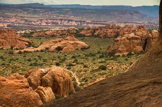 Arches National Park #arches http://hikersbay.com/go/usa