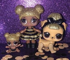 LOL surprise Poupées animaux série 3 Pup Bee Brand New Queen Bee Pet