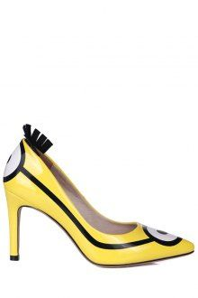 Pointed Toe #Minions Print Stiletto #Heel #Pumps.