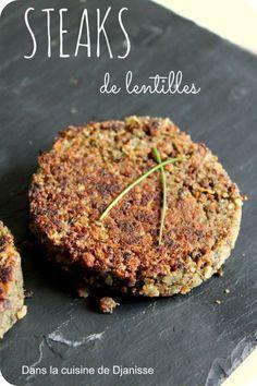 Steaks de lentilles