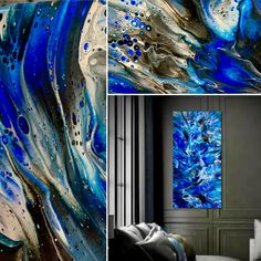 """SOLD. It was such a joy creating the painting below. We settled on naming it """"Moon Swept"""", thank you to Steve Turkle for creating the perfect name. Check out closeups of it and all available artwork on my site at TimWebb.com. My schedule is filling up so contact me soon if you are ready for your very own piece!❤️"""