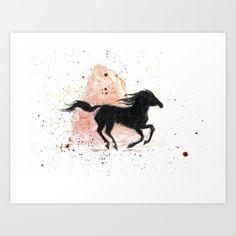 Spirit Stallion of the Cimarron Art Print