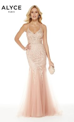 bd2cd3145ea4 Alyce Paris - 5016 | Glitz Nashville Clearance Prom Dresses, Prom Dresses  Jovani, Mermaid