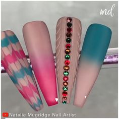 Beautiful autumn nail art 🥰🥰 By @natmugnailartist Nail Art Hacks, Nail Art Diy, Easy Nail Art, Diy Nails, Cute Nails, Pretty Nails, Pretty Nail Designs, Nail Art Designs, Pastel Nail Art