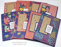 Stampin' Up! Demonstrator Pootles - New Team Notebook Gifts Using Affectionately Yours