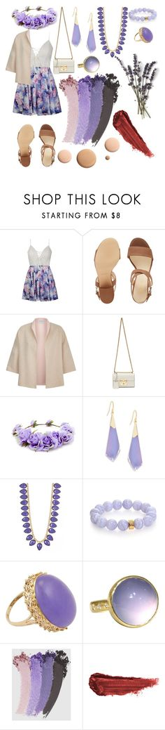 """""""Juliana- Not an average walk in the park"""" by marissa-stevens ❤ liked on Polyvore featuring Ally Fashion, Nine West, MaxMara, Gucci, Forever 21, Alexis Bittar, Loren Hope, Nest, CC and By Terry"""