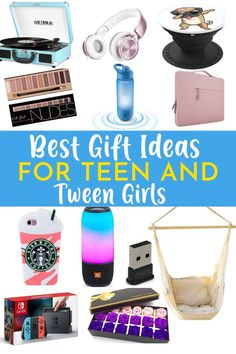 It's time for our annual tween and teen girl gift ideas! At this age, your tween and teen girls can be difficult to find the perfect gift for. Their tastes are changing, and they are finding their own way and discovering what they like. They may be moving from more child-like toys to more mature gifts, so it can be a difficult thing to Holiday Gift Guide, Holiday Gifts, Holiday Fun, Christmas Ideas, Tween Girl Gifts, Tween Girls, Amazon Girl, Mirror Jewellery Cabinet, Cool Gifts For Teens