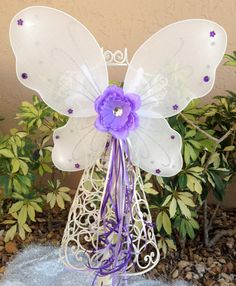 Fairy Princess Wings White Tinkerbell Wings Fairy by partiesandfun, $8.00