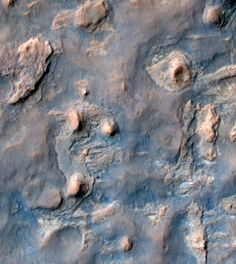 The Curiosity Rover's Tracks Across Mars, As Seen From Space