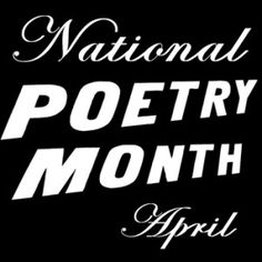 National Poetry Month @WinterGoosePub. #poetry #poems #npm12