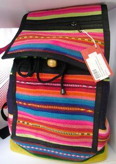 Mochila de aguayo de Maquiswan Songowan Ruaska (Bolivia) - FAIR TRADE http://comerciojusto.tallerdesolidaridad.org/