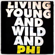 Living young and wild and APhi Alpha Phi Shirts, Alpha Epsilon Phi, Phi Mu, Be Alpha, Greek Fashion, Oh My Love, Sorority Life, Greek Life, Story Of My Life