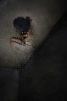 The Dark Room: Fine Art and Melancholy Portrait Photography by Victoria Krundysheva #inspiration #photography
