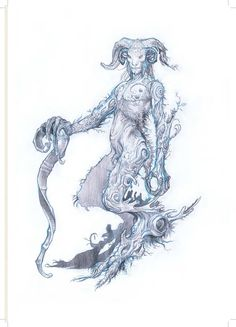 Pan's Labyrinth concept art by Sergio Sandoval