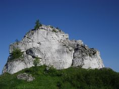 Smoleń, climbing in poland.