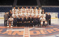 The 2000-2001 New York Islanders.