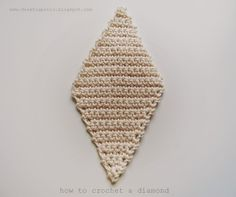 Klik hier voor nederlands today i will share my diamond motif de estraperlo how to crochet diamonds dt1010fo