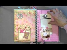 Smash Style Shabby Chic Journal, So CUTE!!!!