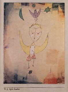 Paul Klee - Angelus - Small - Semi Gloss Print