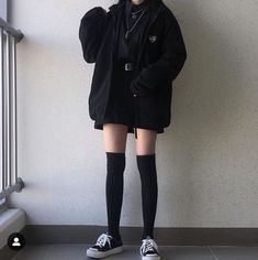 Trendy Outfit Ideas Grunge You Should Already Own Edgy Outfits, Cute Casual Outfits, Mode Outfits, Korean Outfits, Retro Outfits, Grunge Outfits, Girl Outfits, Hipster Outfits, Gothic Outfits