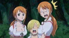 Sanji Vinsmoke Nami One Piece
