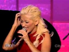 Christina Aguilera feat. Herbie Hancock - A Song For You Ellen DeGeneres. Yep, she definitely needs to sing with Steven Tyler!