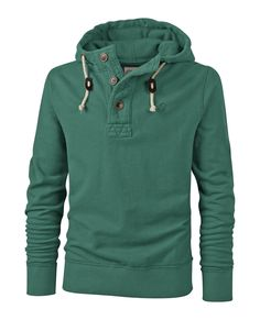 Large image of Rossmore Button Neck Hoody - opens in a new window