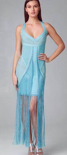 Alberto Makali Pointelle 2 Tone Fringe Dress Fringe Dress, Giza, Spring, How To Wear, Dresses, Fashion, Vestidos, Moda, Fringe Flapper Dress