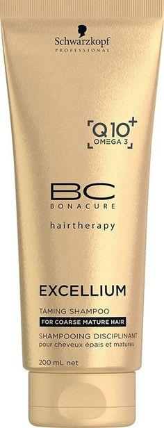 Schwarzkopf Professional BC Bonacure Excellium Q10+ Omega 3 Taming Shampoo 200 ml
