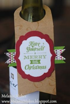 Have Yourself a Merry Little Christmas Series - Part Two by MelanieMakes - Cards and Paper Crafts at Splitcoaststampers